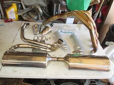 Triumph OEM Stock Exhaust 2007 Triple Speed 1050 2200348 2200349 SMT 500 1050