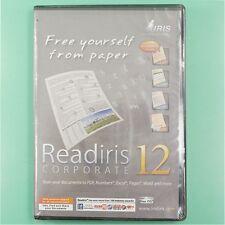 NEW I.R.I.S. Inc Readiris Corporate 12 OCR Software for MAC