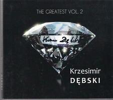 SIGNED KRZESIMIR DEBSKI - THE GREATEST VOL. 2 TOP RARE POLSKA POLAND POLISH