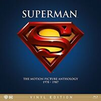 Superman - The Motion Picture Anthology 1978-1987(4 BluRay Vinyl Edition) Nuovo