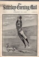 1907 Saturday Evening Mail August 24 - Baseball;Auto Camping;Bergen County homes
