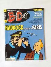 Magazine tintin BD - Haddock pavoise a PARIS / 2001 / HERGE / BoDoï 40