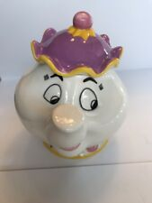 Disney's Beauty and the Beast Mrs. Potts Cookie Jar EXCELLENT Treasure Craft
