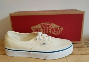 Vans Classic Authentic Off White Skateboarding Lifestyle Shoes for Men