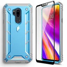 Para LG G7 ThinQ/LG G7 Case [360 ° Premium a Prueba de impactos Cubierta Protectora] azul