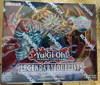 Legendary Duelists Rage of RA Booster Box- Yu-Gi-Oh!- New!! Sealed!