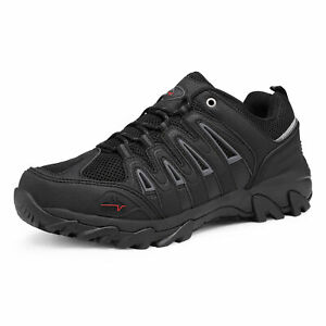 NORTIV 8 Men's Waterproof Hiking Boots Lightweight Outdoor Trekking Trail Shoes