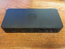 New listing Dell D3100 Usb 3.0 Ultra Hd/4K Triple Display Docking Station - Black