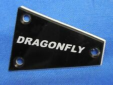 NEW FERNANDES GUITAR TRUSS ROD COVER PLATE FOR DRAGONFLY