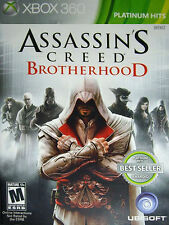 Assassin's Creed: Brotherhood Microsoft Xbox 360 2011 COMPLETE GAME CASE MANUAL