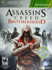 Assassin's Creed: Brotherhood -- Platinum Hits (Microsoft Xbox 360, 2011) GOOD