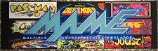 "Mame Classics Arcade Marquee 26""x8"""