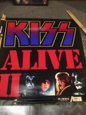 Kiss Alive 2 Two Album Cover Poster Gene Simmons Ace Frehley Kiss Live Tour
