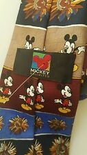 Mickey Unlimited Tie Cartoon Character Mickey Mouse EUC
