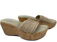 Steve Madden Wedge Platform Sandals Women's Shoes Size 8 M