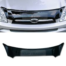 San Black Front Hood Guard Bug Shield  Molding for KIA 2007 - 2011 Carens Rondo