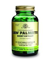 Solgar Standardized Full Potency Saw Palmetto Berry Extract Vegetable Capsule 60