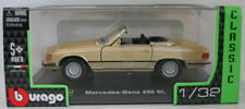 Véhicules miniatures noirs Burago pour Mercedes