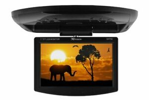 XO Vision 7-inch Widescreen Overhead Monitor with IR Transmitter for in Car E...