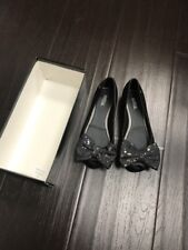 Mini Melissa Ultragirl Sweet Flat II  Black 2 US Euro 33