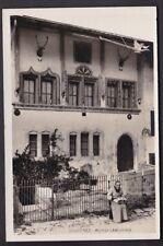 Switzerland Fribourg GRUYERES Maison Chalamaia lace making c1900/10s? RP PPC