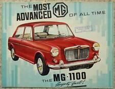 MG 1100 Car Sales Broadsheet Brochure April 1964 #6419