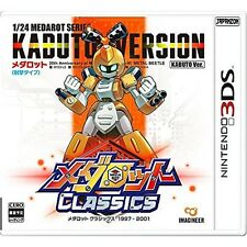 NINTENDO 3DS Medarot Classics Kabuto  JAPANESE VERSION JAPANESE SYSTEM ONLY !!