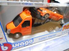 IVECO Daily Transporter Autotransporter + MINI Cooper orange Bbruago  1:43
