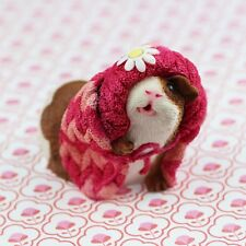 Guinea Pig Figurine or ornament - BLOSSOM by Forever Home Studios.