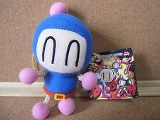 Bomberman Blue Bomber Aobon Mascot Stuffed toy Plush doll Figure w/tag