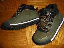 New & Cute Size 9 Little Boy's Hunter Green Boots Perfect For Fall & Winter