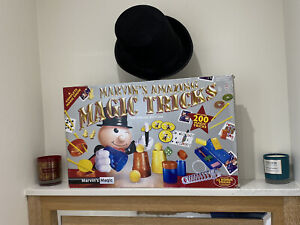 MARVIN'S AMAZING MAGIC TRICKS SPECIAL EDITION.AGE8+&HENBRANDT TOP HAT.VGC.RRP£35