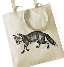 fuchs fox stoffbeutel tote bag