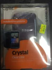 HTC Desire S Crystal Clear Case + Screen Guard CY0393CHCRY Brand New.