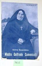 RELIGIONE- MADRE GELTRUDE COMENSOLI - ANIMA EUCARISTICA