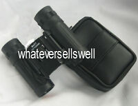 COMPACT FOLDING 8 X 21 ROOF PRISM BINOCULARS binos pocket lightweight armoured