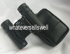 COMPACT FOLDING 8 X 21 ROOF PRISM BINOCULARS are lightweight for pocket