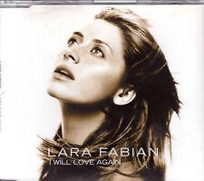 MAXI CD COLLECTOR 1T LARA FABIAN I WILL LOVE AGAIN DE 2000