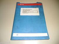 Manuale D'Officina Elettrica VW Sharan Elettrico Impianto Stand 06/2000