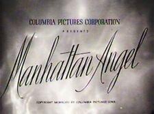 MANHATTAN ANGEL 1949 Gloria Jean, Ross Ford
