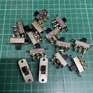 Stackpole Vintage Slide Switch - 3A 125V AC - 1 Piece