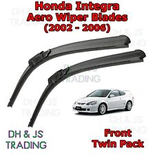 (02-06) Honda Integra Aero Wiper Blades / Front Windscreen Flat Blade Wipers DC5