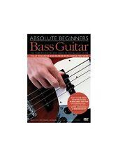 ABSOLUTE principianti chitarra basso imparare a suonare facile Lezione Insegnare Tutor DVD MUSICALE
