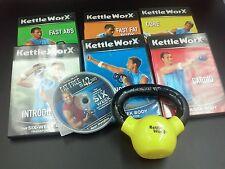 KETTLEWORX Workout 5 LB KETTLEBALL and 7 DVD SET