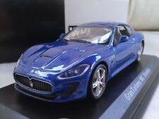 Voitures, camions et fourgons miniatures bleus pour Maserati