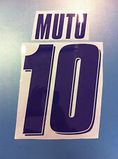 fiorentina kit MUTU viola plastica Nameset maglia calcio lotto