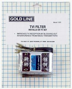 Misc. 1093 Tvi High Pass Filter-Reduces Tv Radio Interference