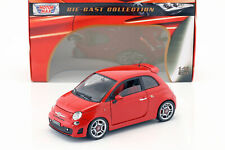 Fiat Abarth 500 Baujahr 2008 rot 1:18 MotorMax