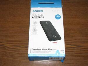 Anker PowerCore Metro Portable Charger Essesntial 20000- Power Bank - Dark Grey