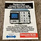 1982 Sencore SC61 Waveform Analyzer Sales Brochure